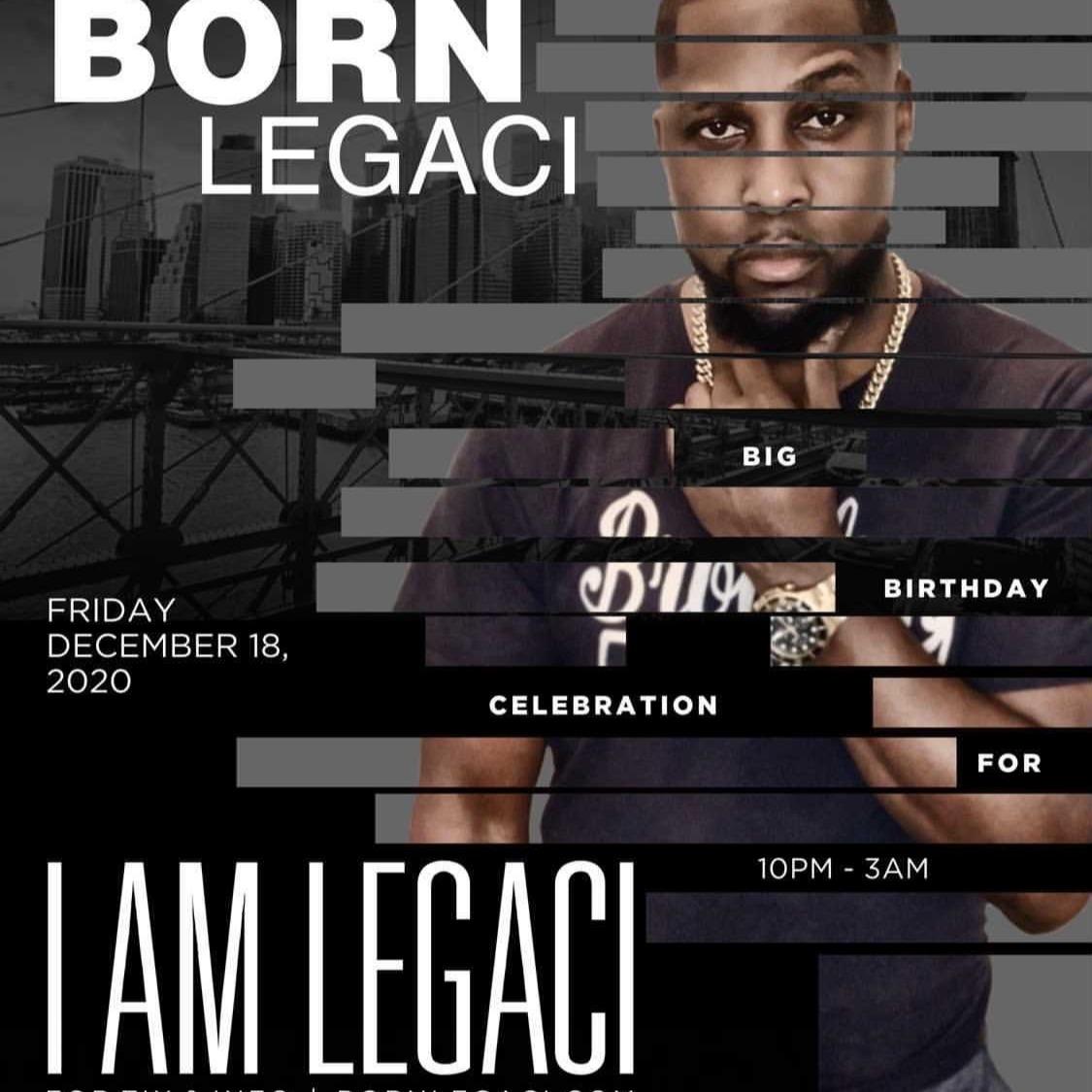 THE BORN LEGACI | Big Birthday Celebration for I AM LEGACI