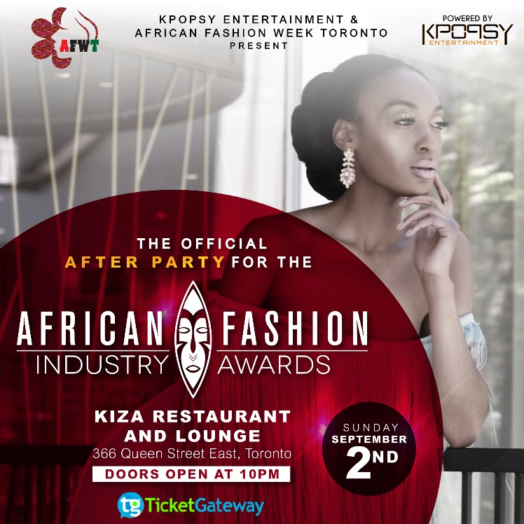 African Fashion Week Toronto - Official After Party AFIA