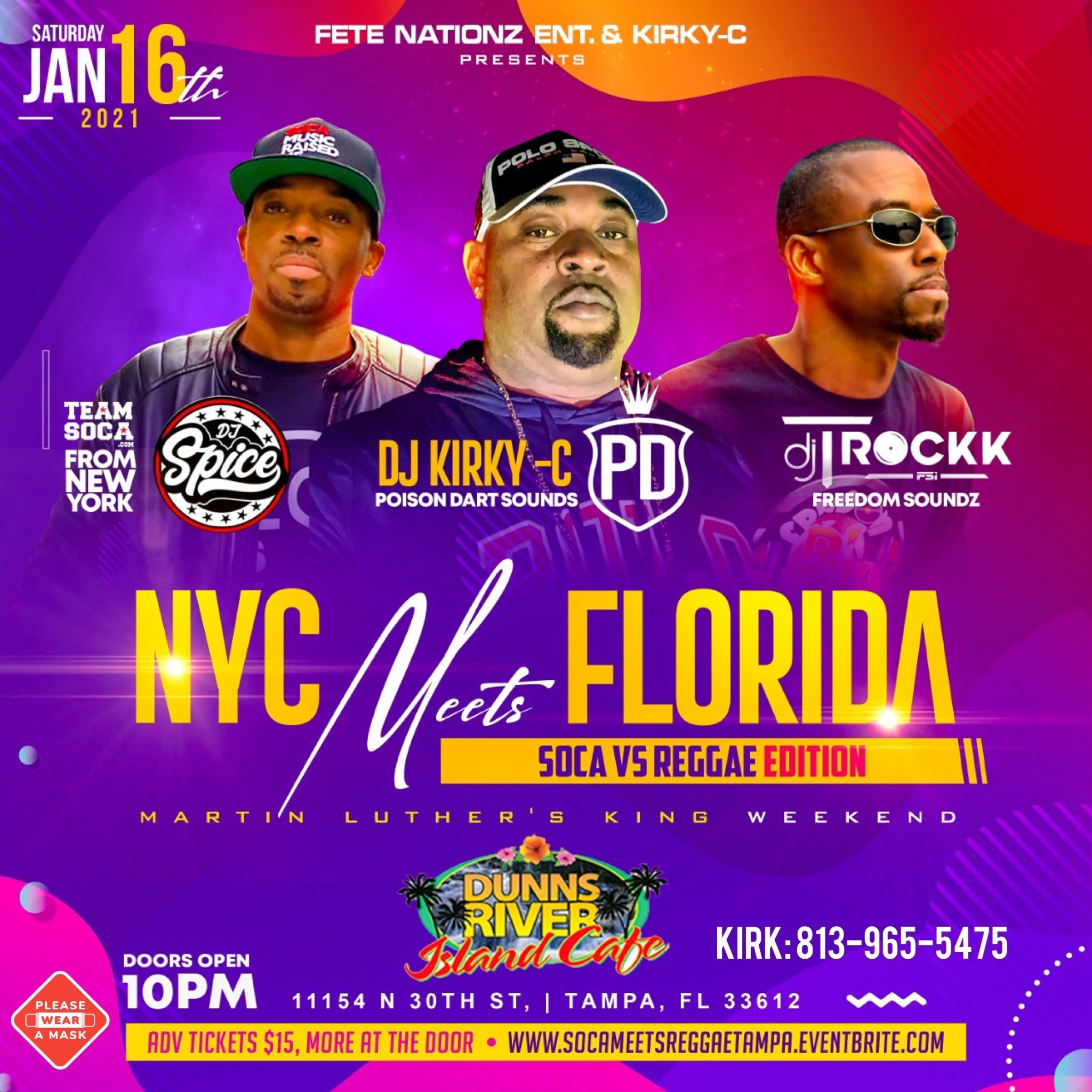 NYC Meets Florida - Martin Luther King Weekend