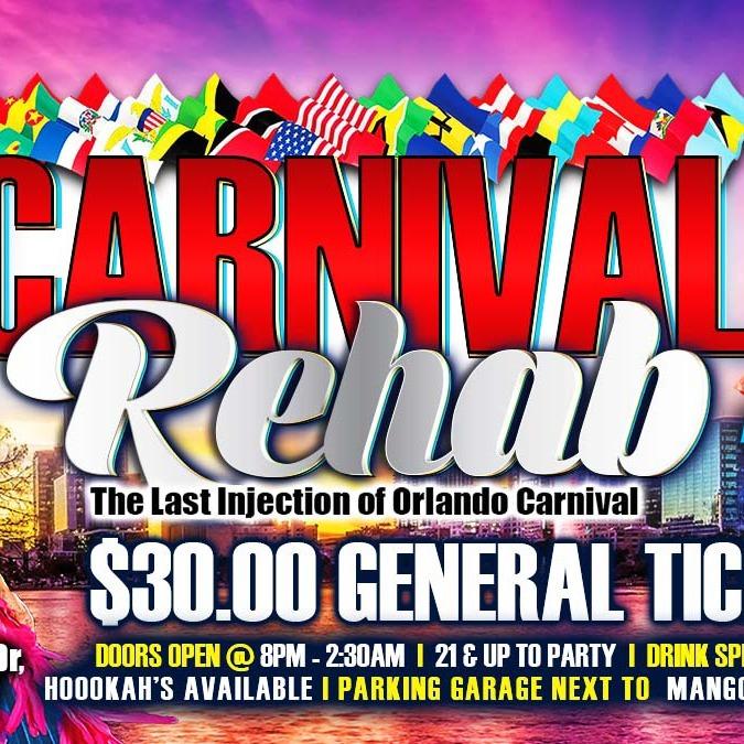 Carnival Rehab - Orlando Carnival 2021