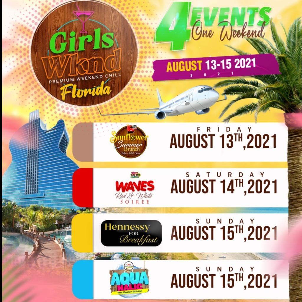 GIRLS WEEKEND - FLORIDA