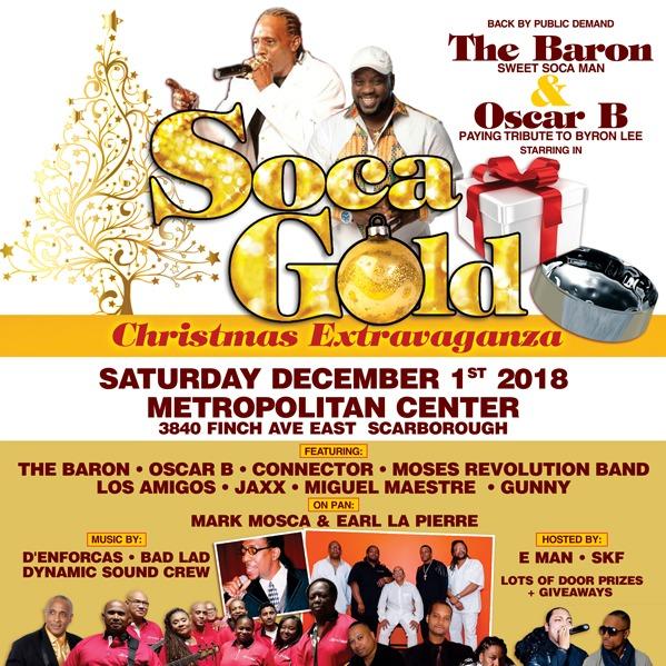 Soca Gold \ Christmas Extravaganza