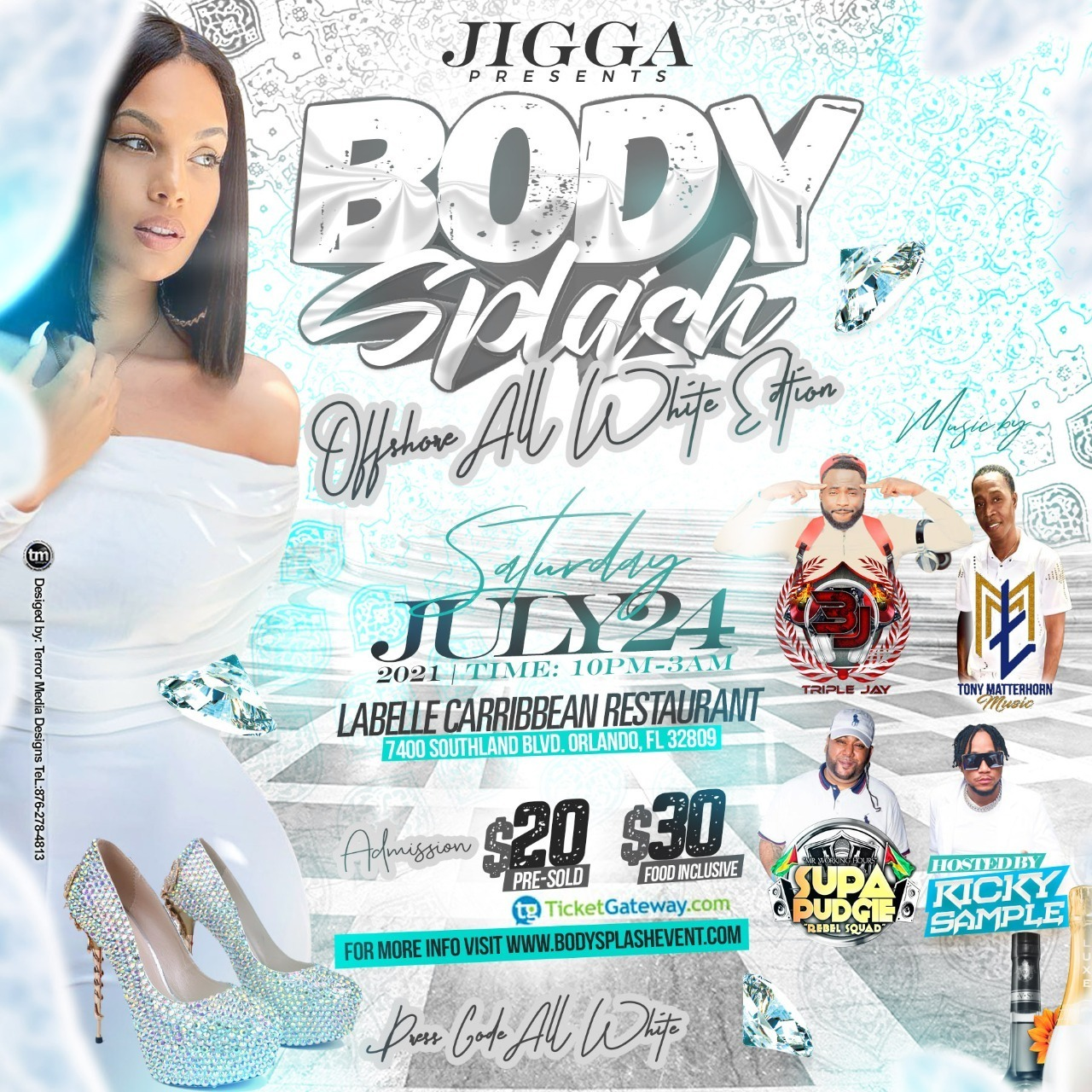 Body Splash Offshore All White Edition