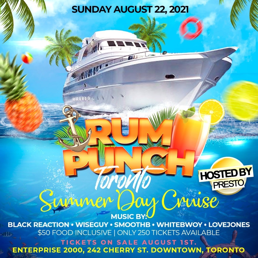 Rum Punch The Boat Cruise