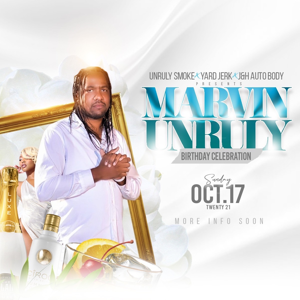 Marvin Unruly BDay Bash