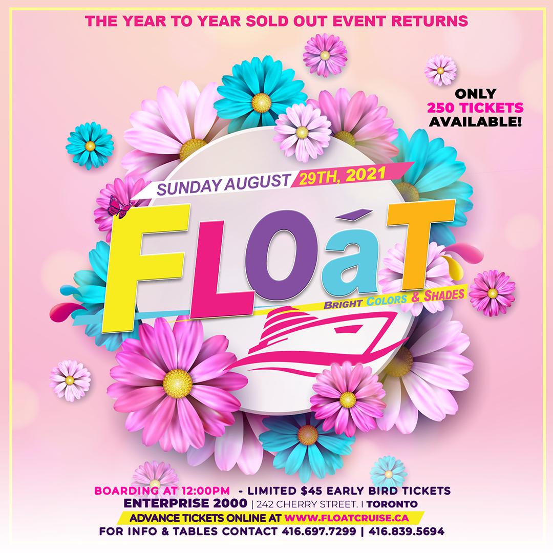 FLOAT 2021 Boat Cruise
