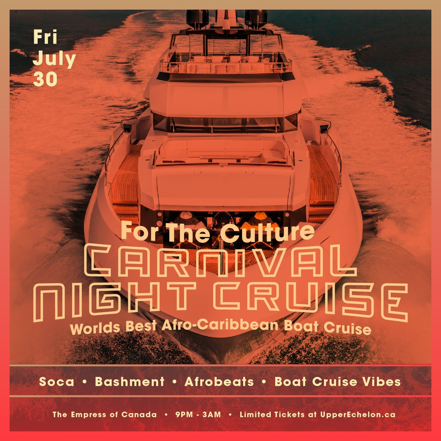 For The Culture | Carnival NIGHT Cruise | Carnival Friday