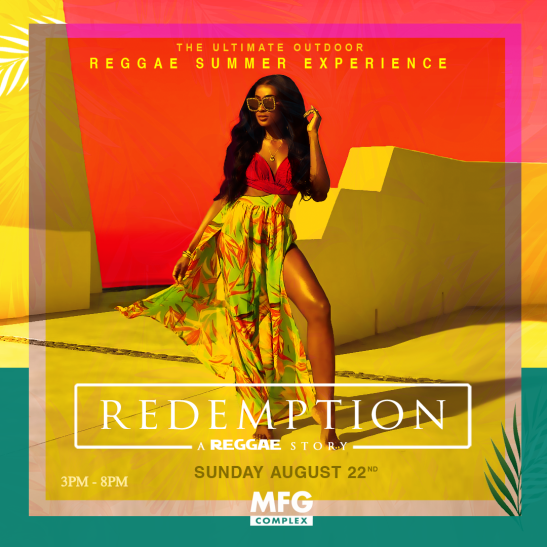 REDEMPTION ~ THE ULTIMATE OUTDOOR REGGAE EXPERIENCE