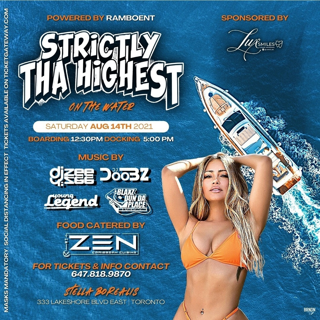 Strictly tha Highest on the water