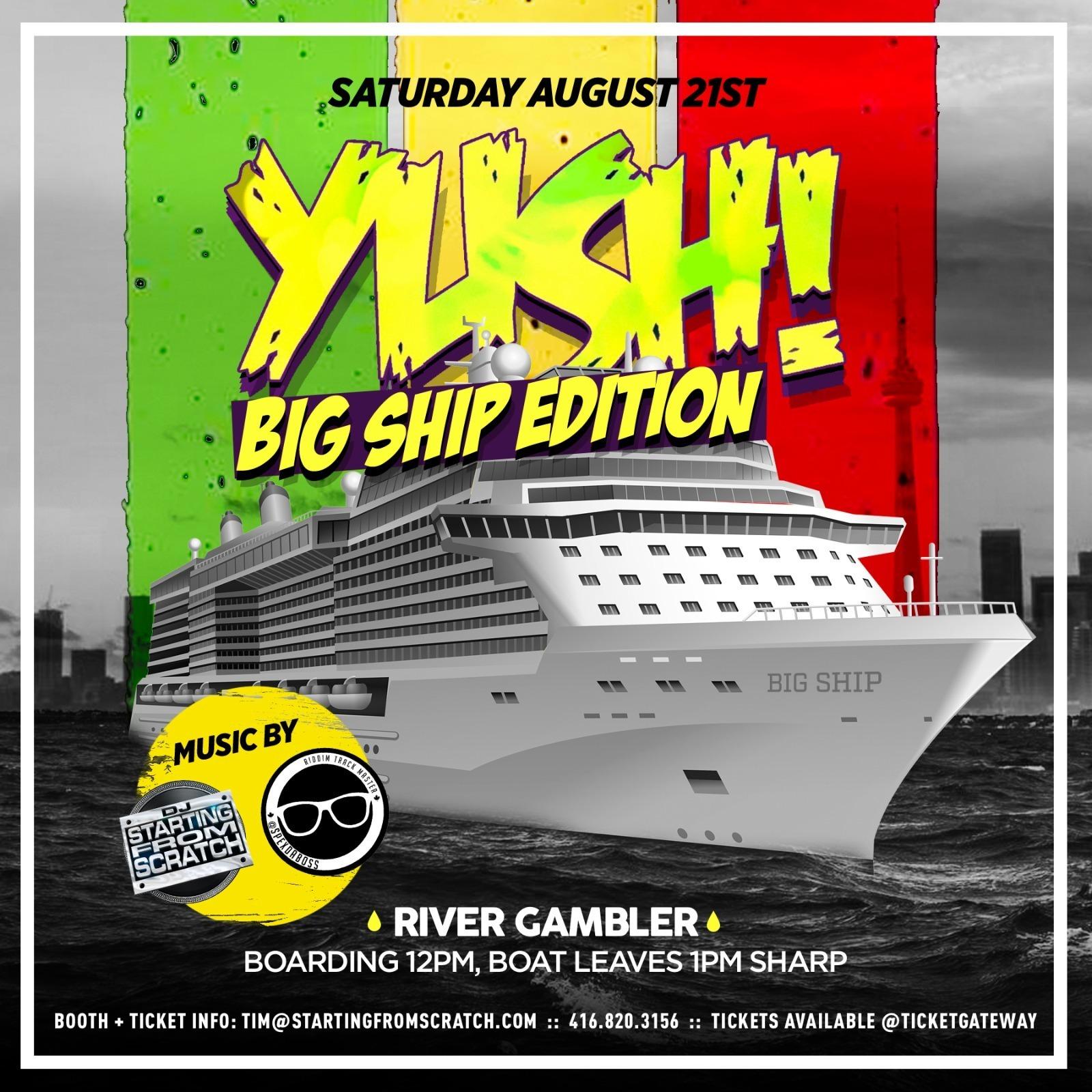 YUSH !   - BIG SHIP EDITION 2021