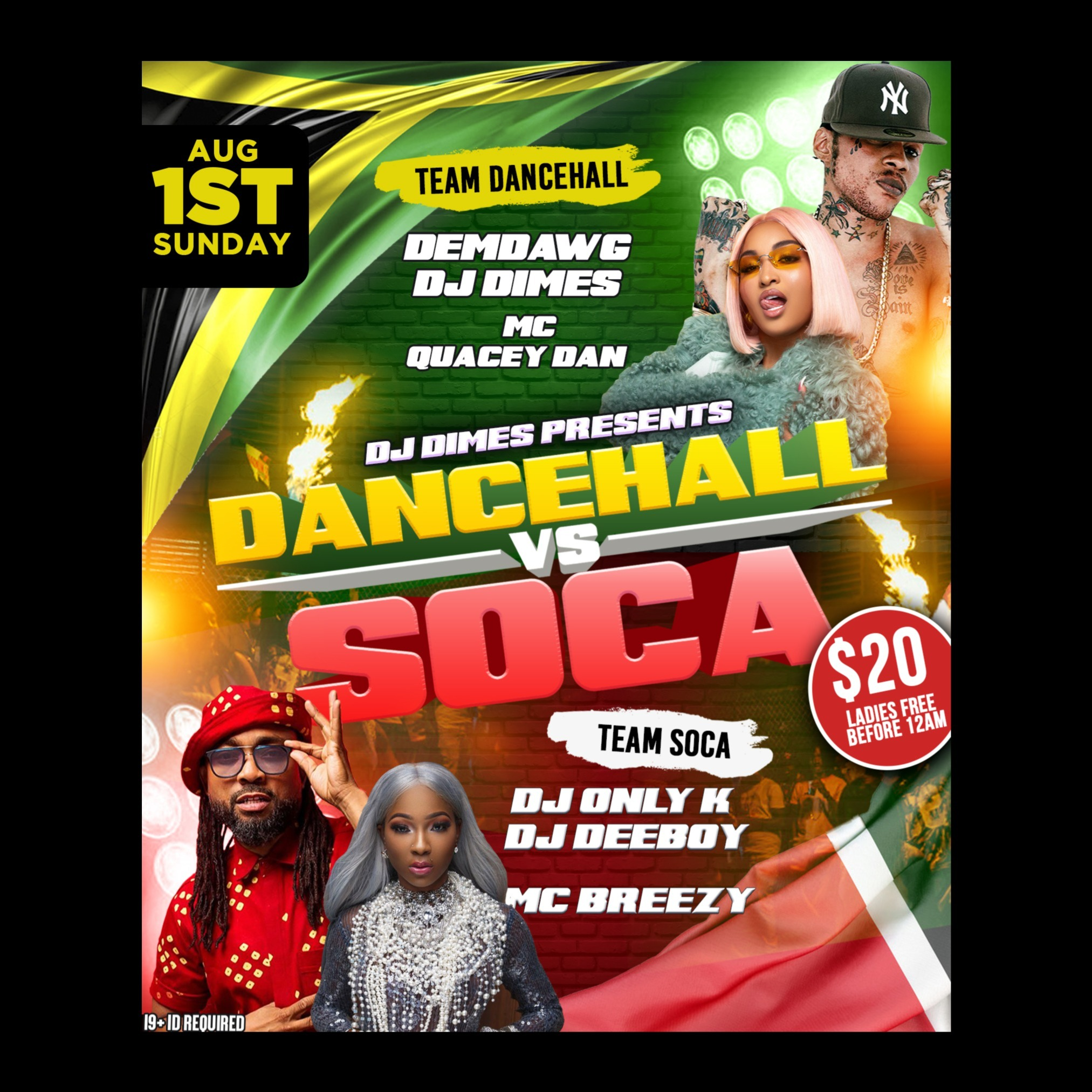 DANCEHALL VS SOCA [CARIBANA SUNDAY]