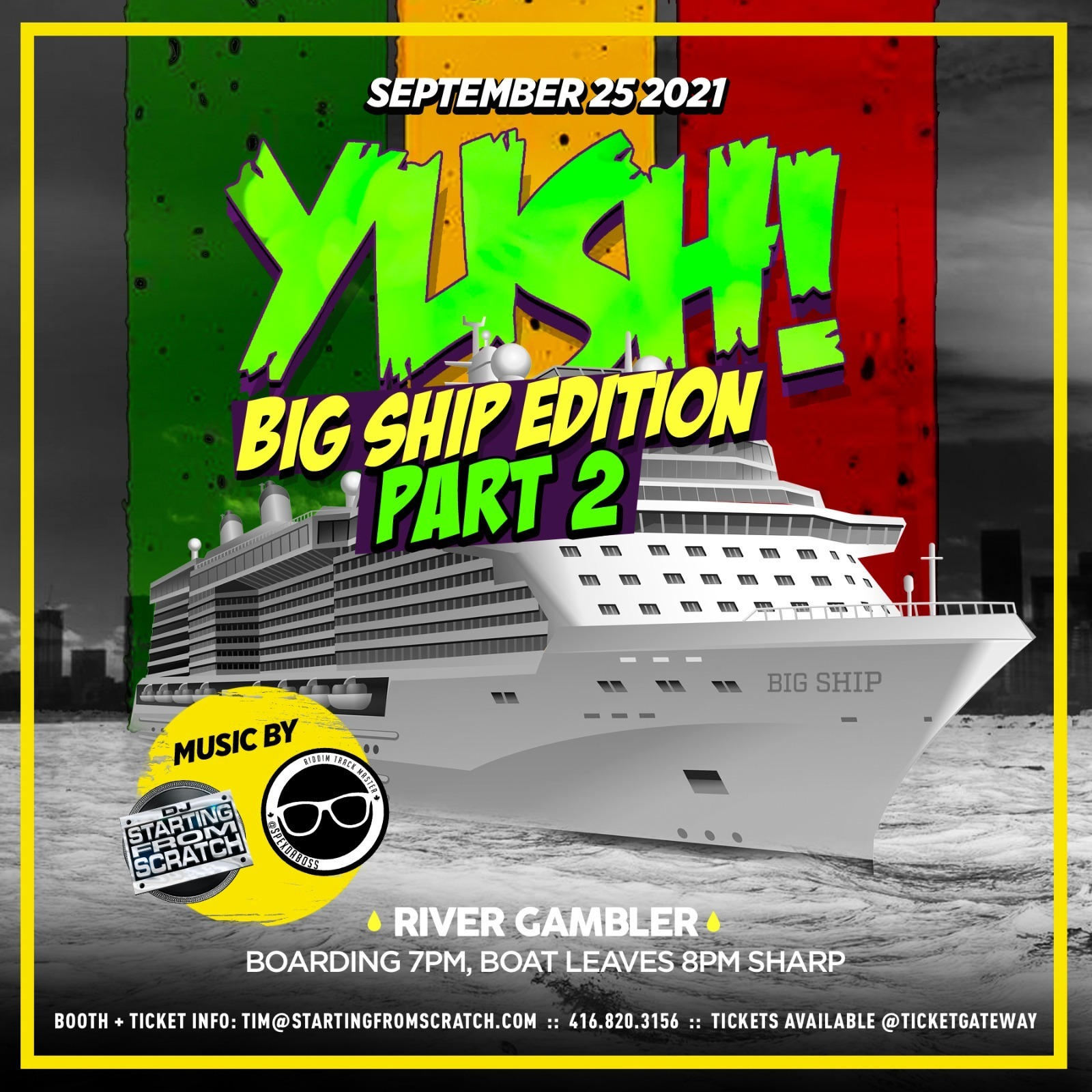 YUSH ! - BIG SHIP EDITION 2021 - PART 2
