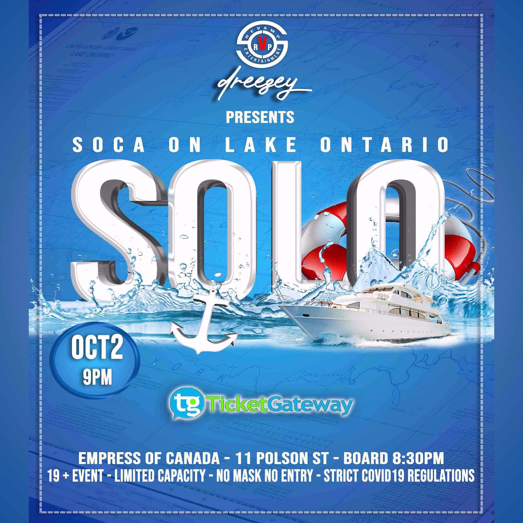 SOLO- Soca On Lake Ontario