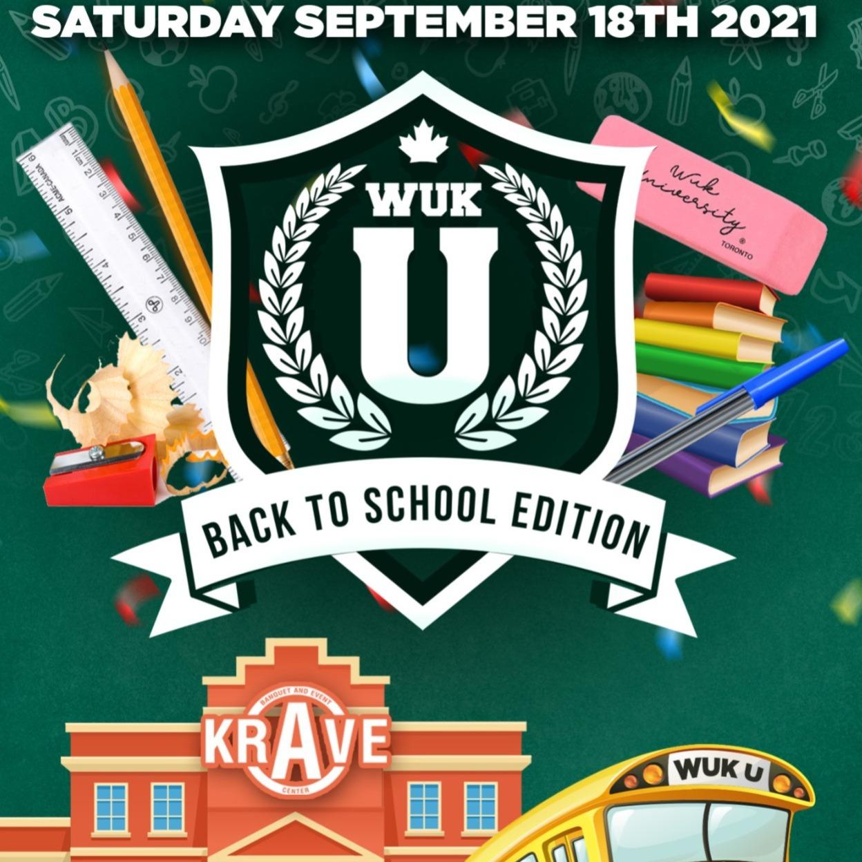 WUK U - BACK TO SCHOOL 2021