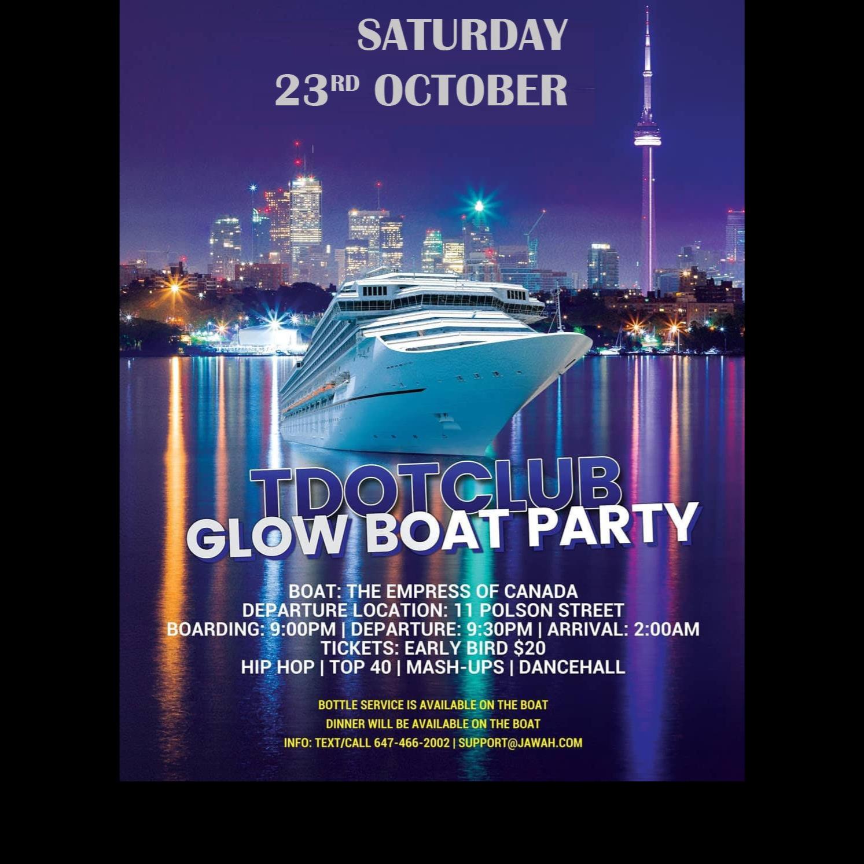 Tdotclub Glow Boat Party