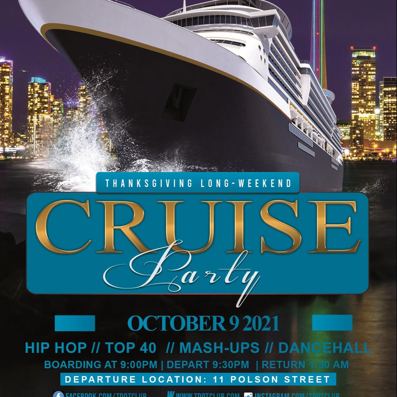 Tdotclub Thanksgiving Booze Cruise