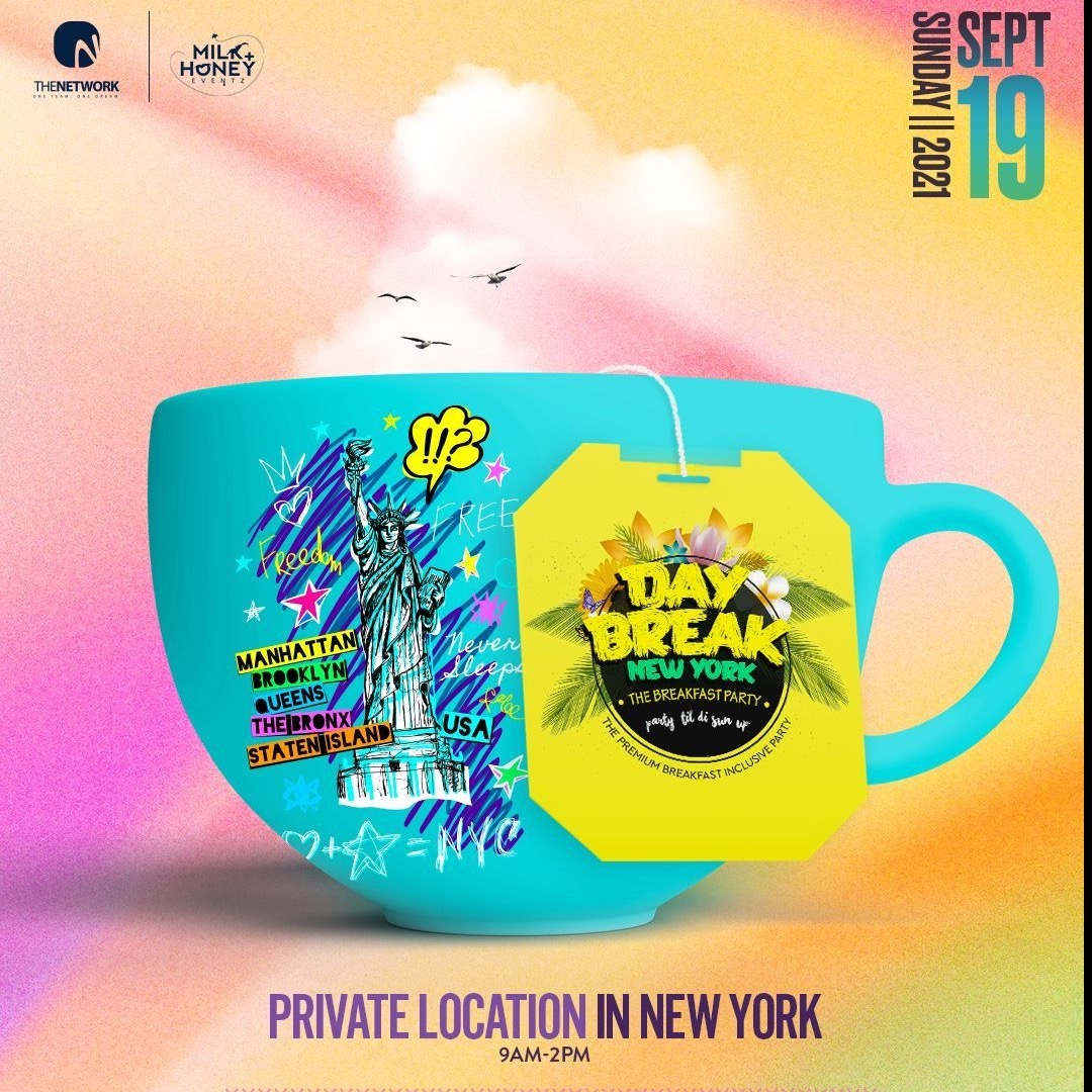 DAYBREAK BREAKFAST PARTY  - NEW YORK