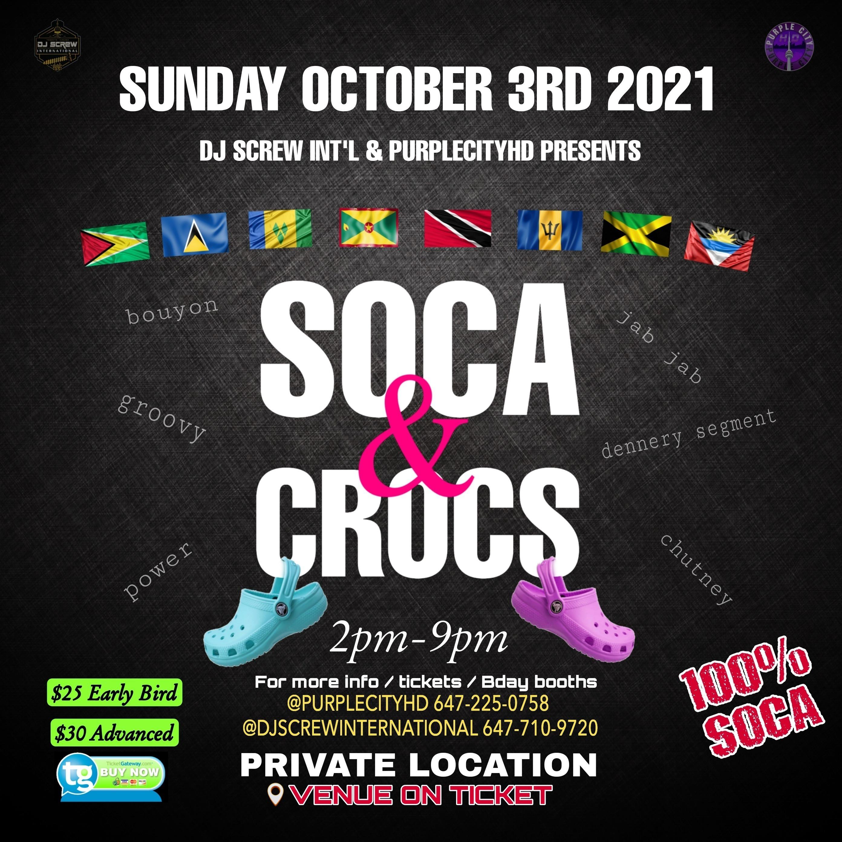 Soca & Crocs