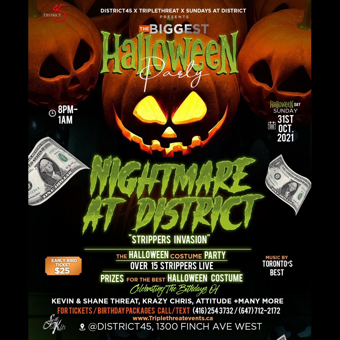 NIGHTMARE AT DISTRICT