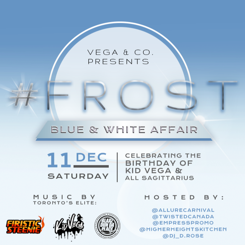 FROST: BLUE AND WHITE AFFAIR