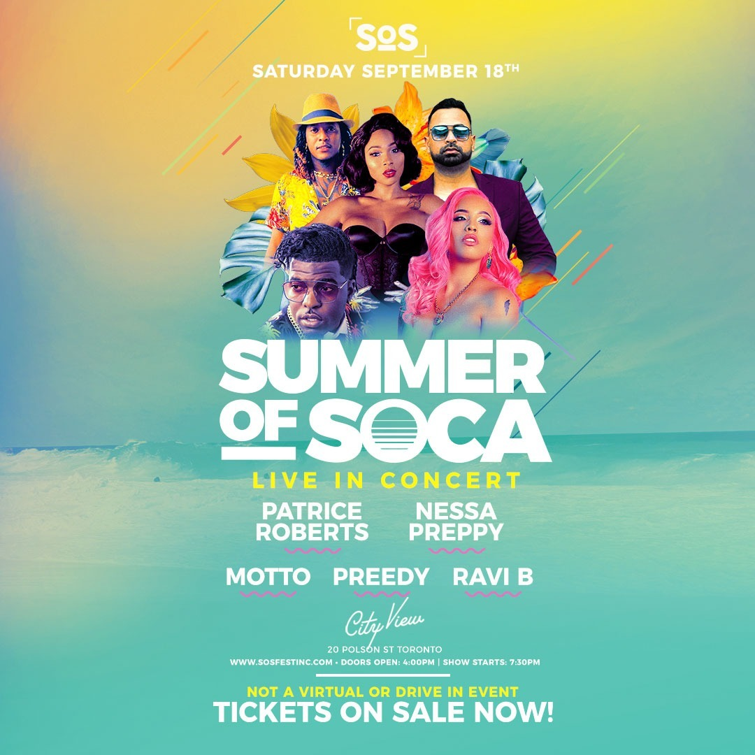Summer Of Soca - Live Concert Event