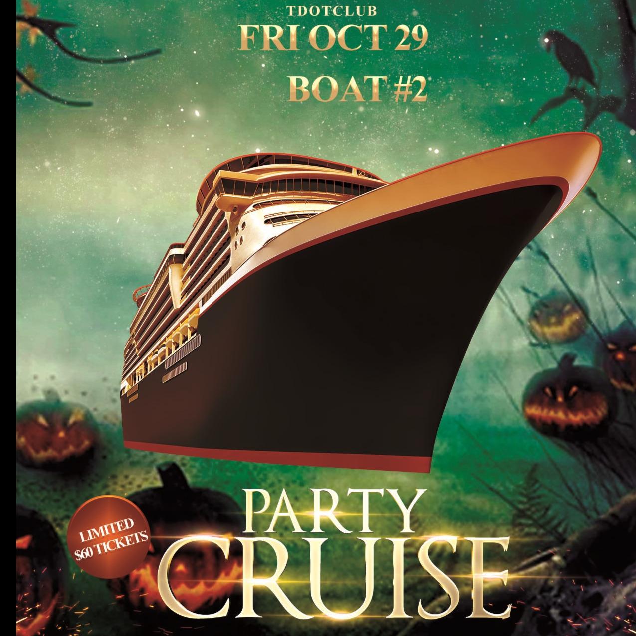 Tdotclub Friday Halloween Boat #2