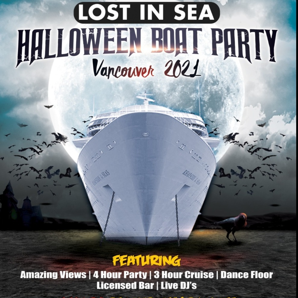 Lost In Sea Halloween Boat Party Vancouver 2021