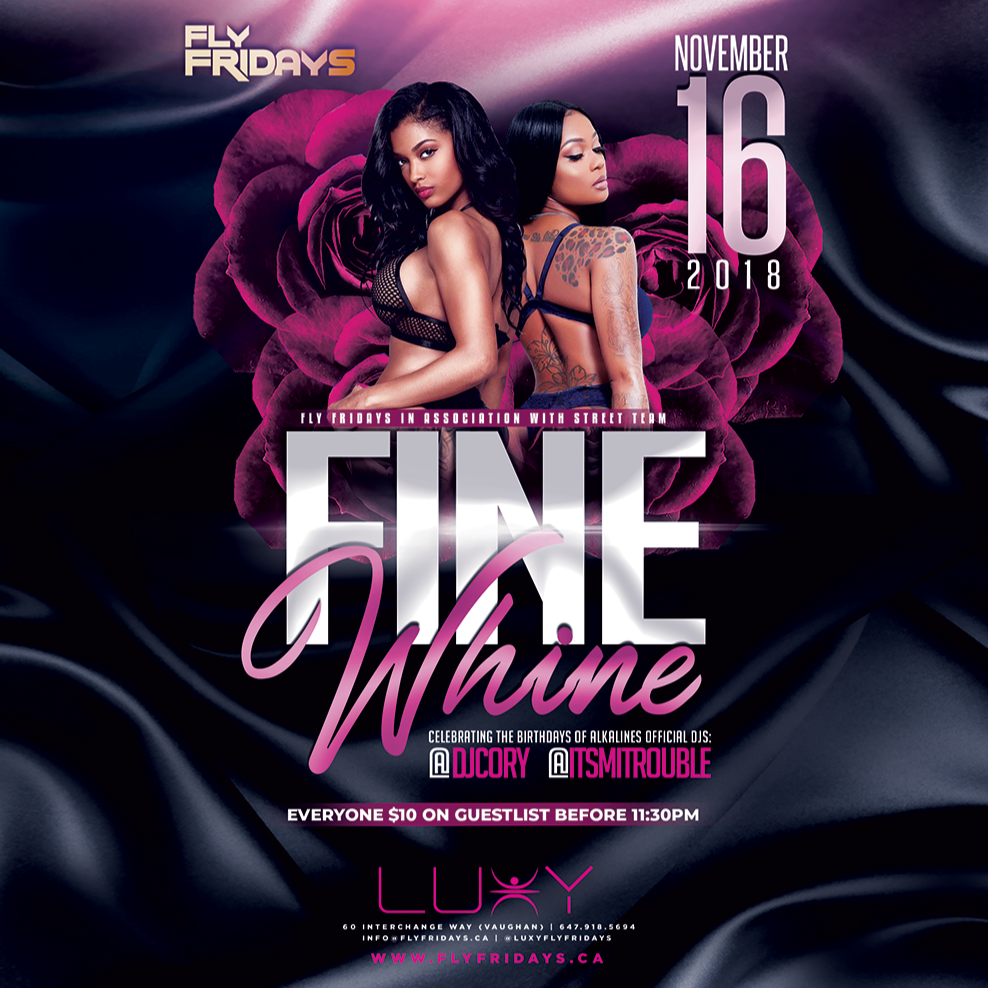 Fly Fridays \ Fine Whine