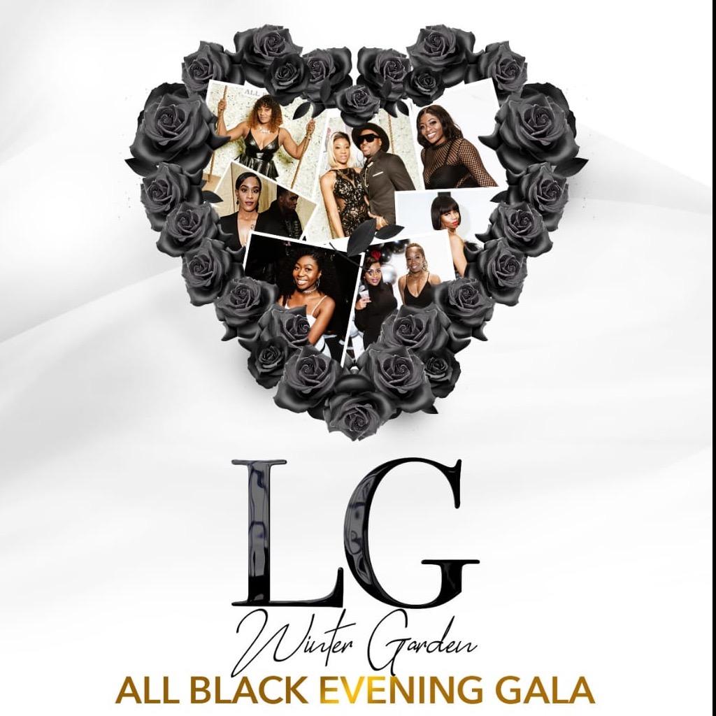LG Winter Garden - All Black Evening Gala