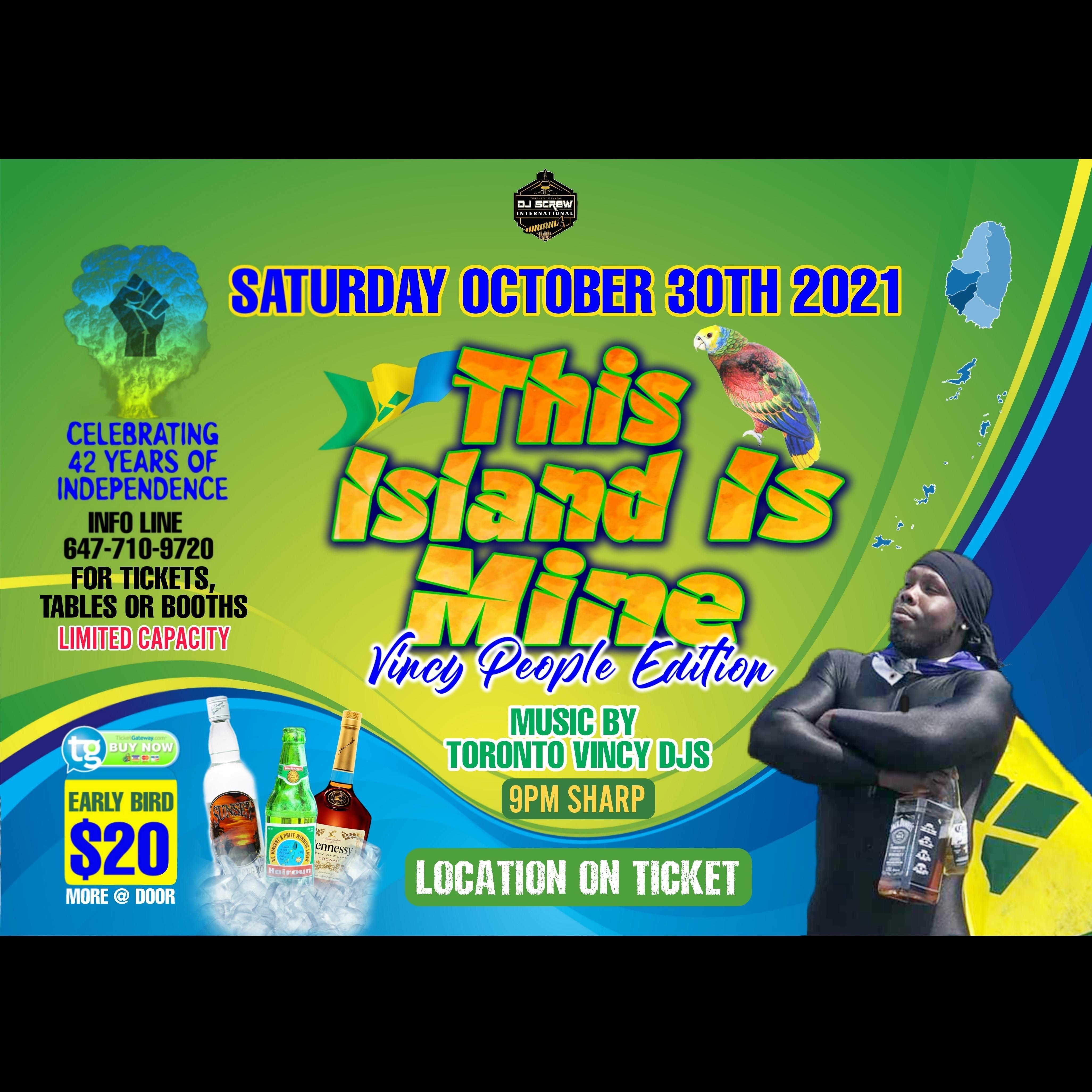 THIS ISLAND IS MINE
