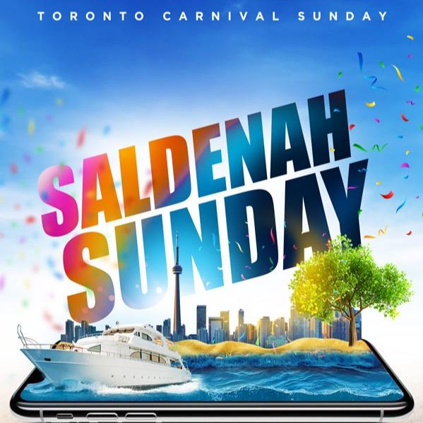 SALDENAH SUNDAY  Boat Cruise | Toronto Carnival Sunday