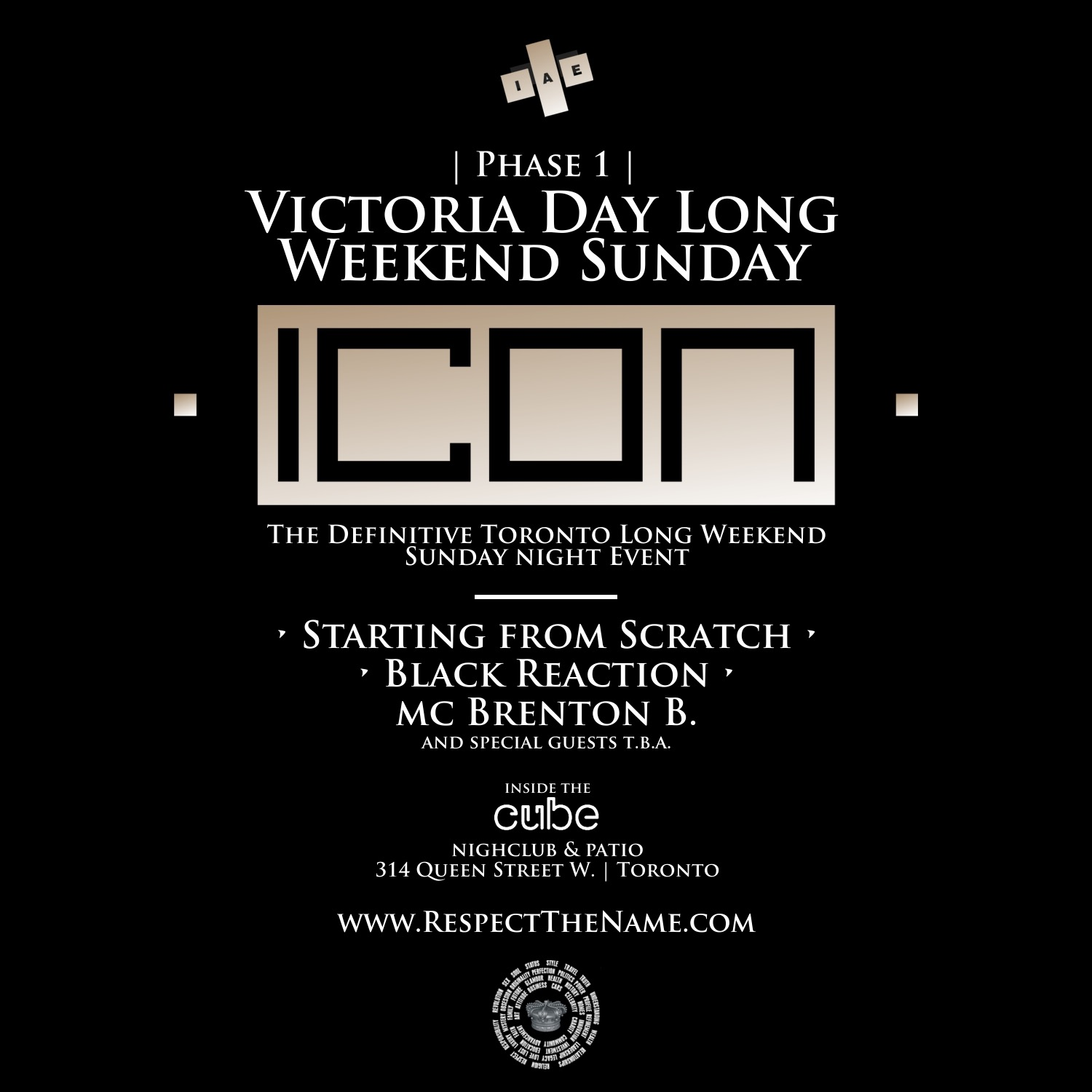ICON - VICTORIA LONG WEEKEND SUNDAY 2018