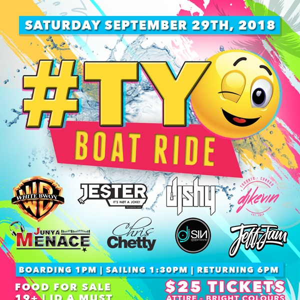 The OFFICIAL SUMMER SEND OFF CRUISE #TY!!!