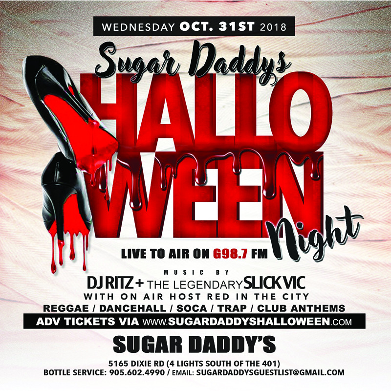 SUGAR DADDY'S HALLOWEEN NIGHT
