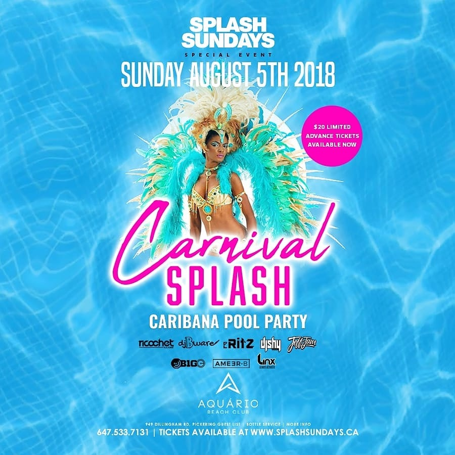 SPLASH SUNDAYS - THE OUTDOOR DAY PARTY