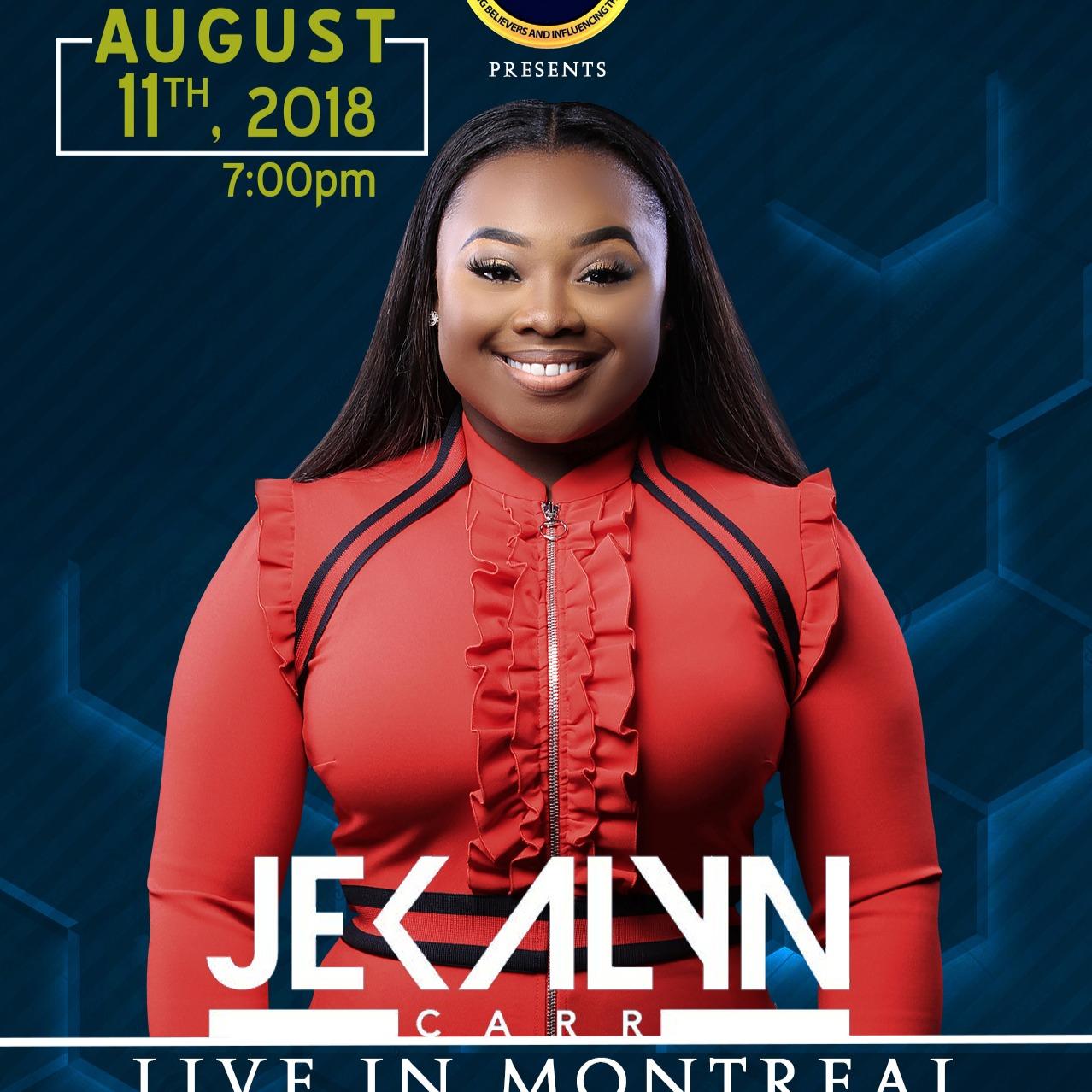 Jekalyn Carr LIVE in Montreal
