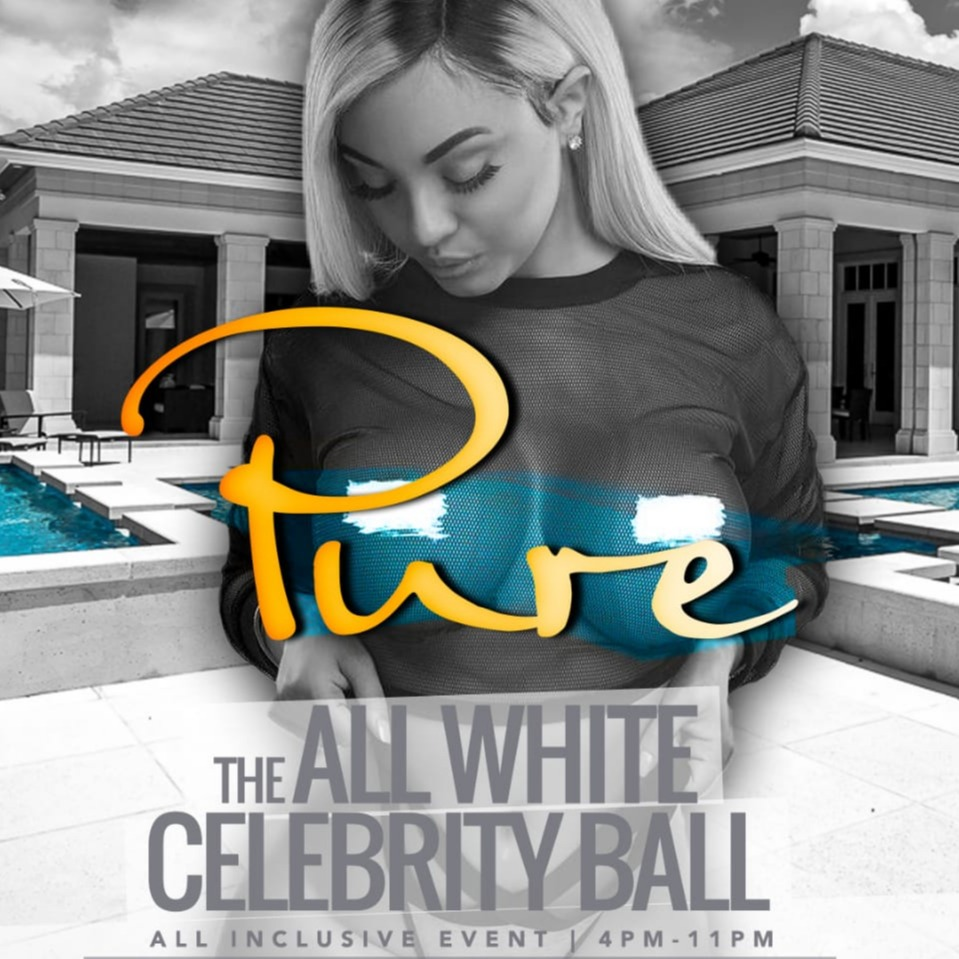 PURE: The All White Celebrity Ball | Mansion Pool Party | All Inclusive