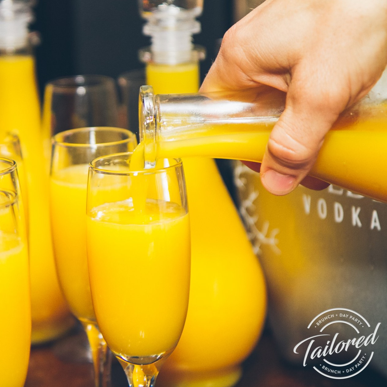 Tailored Brunch & Day Party - The one year anniverary