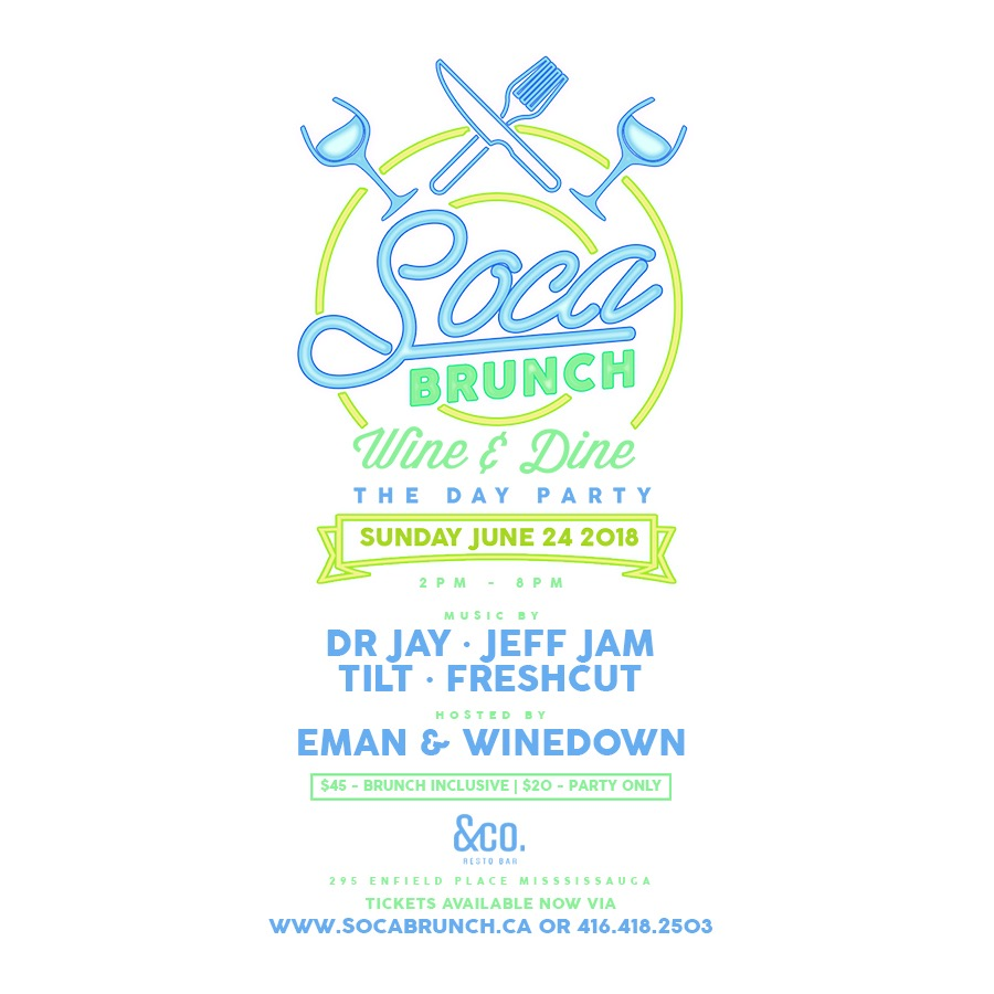 SOCA BRUNCH | THE DAY PARTY | 2PM - 8PM