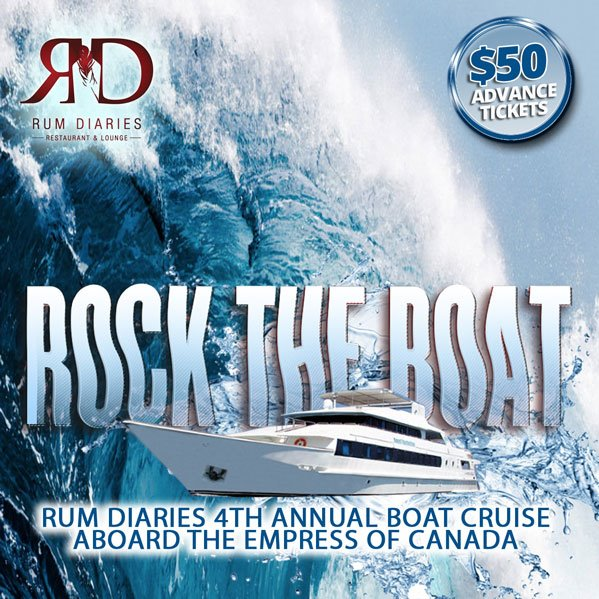 Rock The Boat | Rum Diaries 4th Annual Boat Cruise