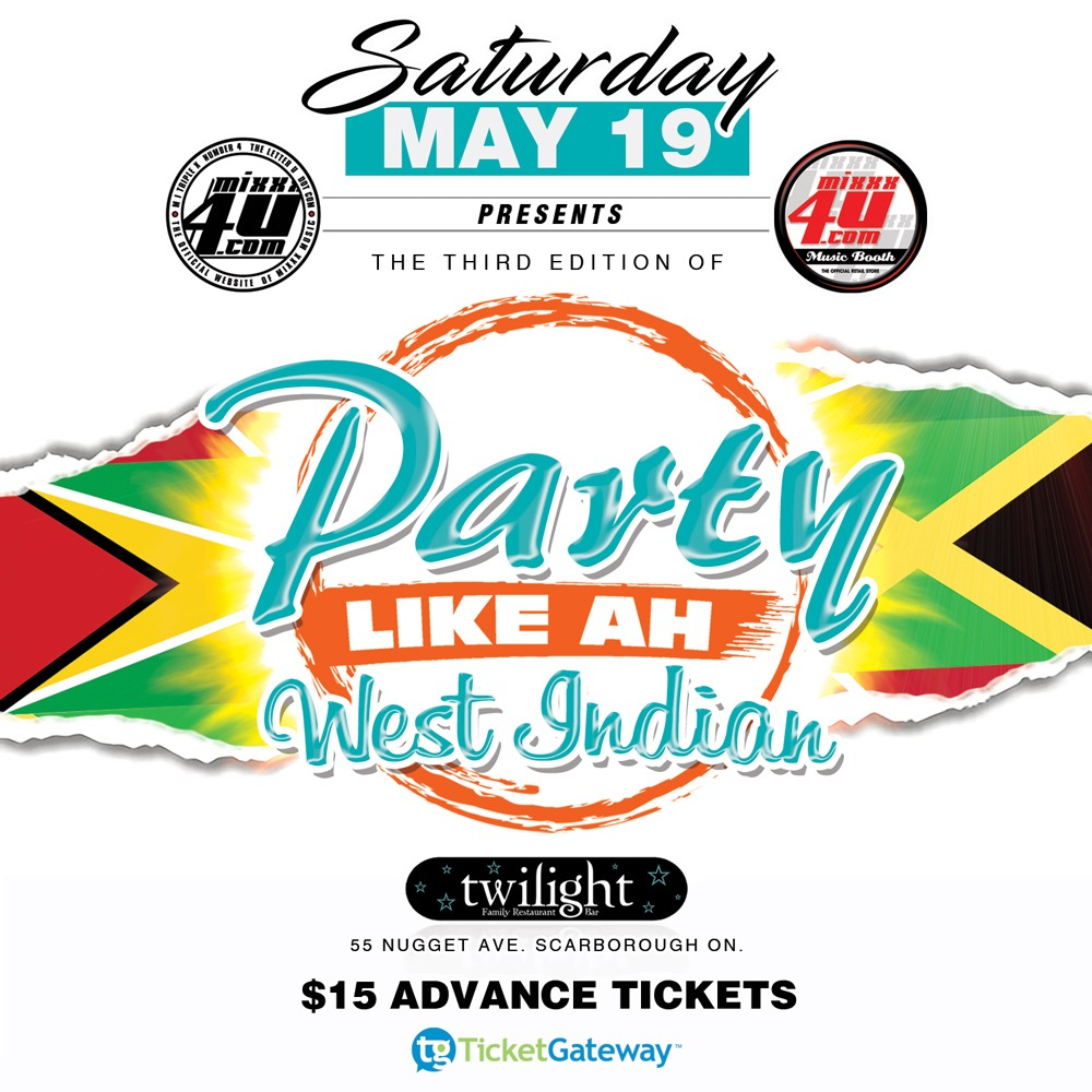 Party Like Ah West Indian