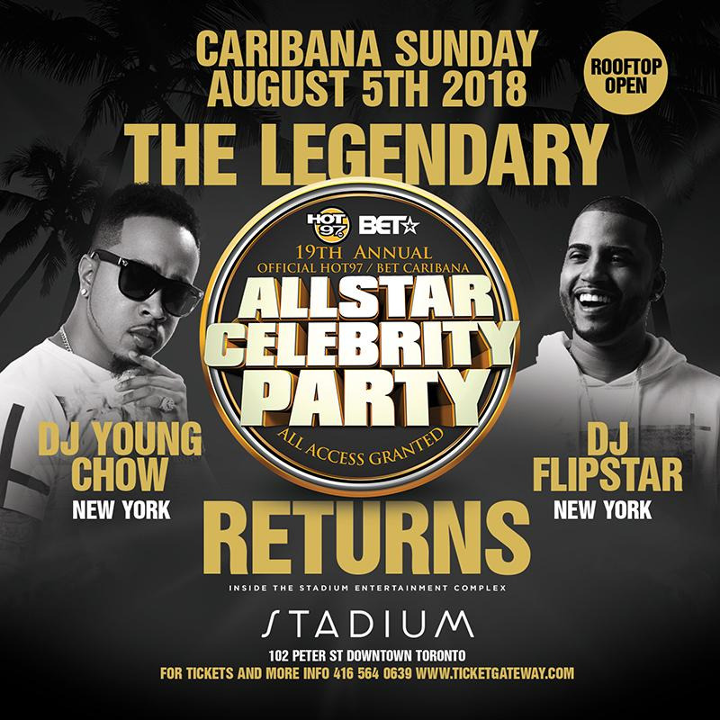 CARIBANA SUNDAY ALL STAR CELEBRITY PARTY@ STADIUM NIGHTCLUB