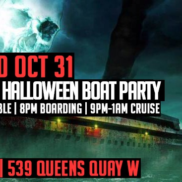 THE HAUNTED SHIP HALLOWEEN BOAT PARTY 2018 | WEDNESDAY OCT 31ST