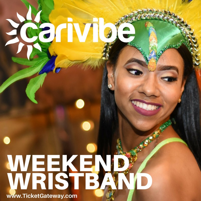 CARIVIBE WEEKEND 2018 - OFFICIAL EVENTS - WRISTBANDS & TICKETS
