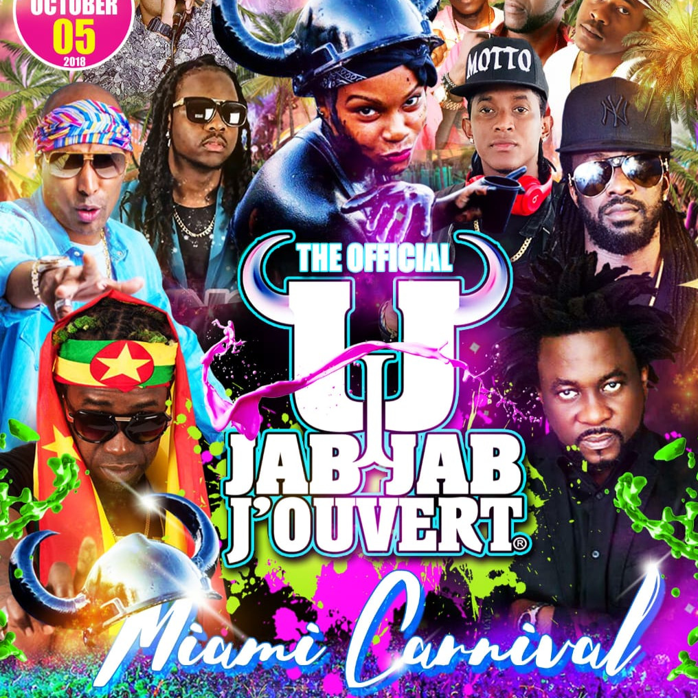 The Official Jab Jab J'ouvert \ Miami Carnival