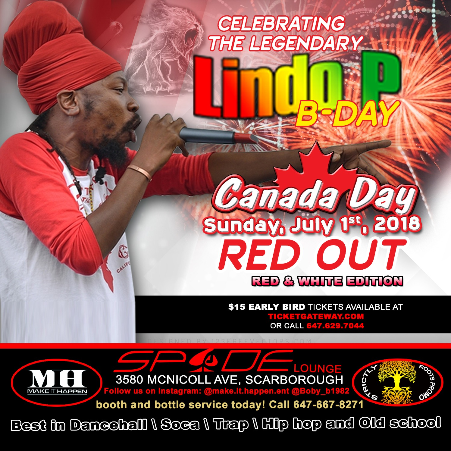 Canada Day | Celebrating the Legendary Lindo P B-Day