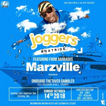 JOGGERS BOATRIDE FT MARZVILLE