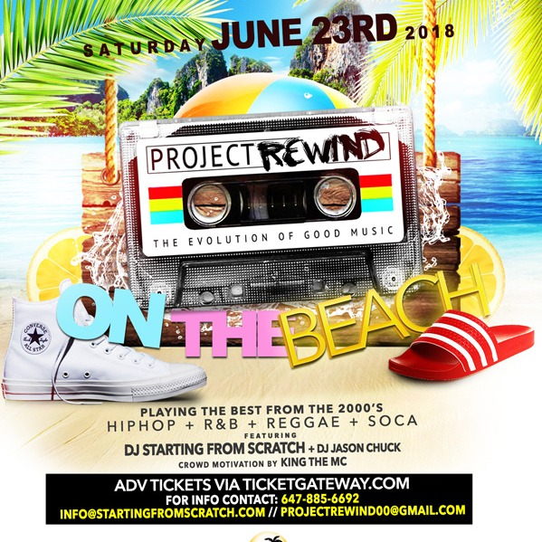 Project Rewind on the Beach 2018