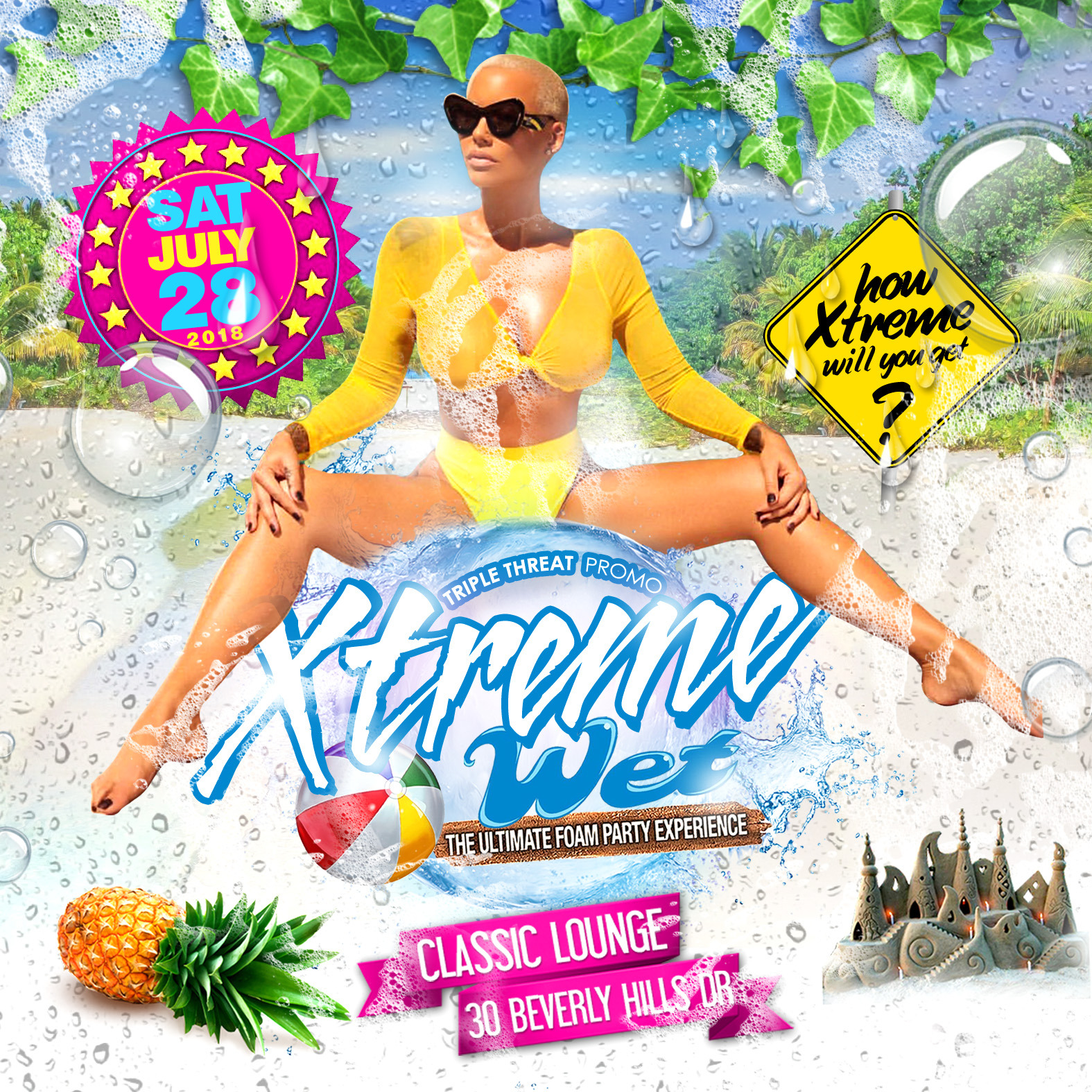 Xtreme Wet - The Ultimate Foam Party Experience