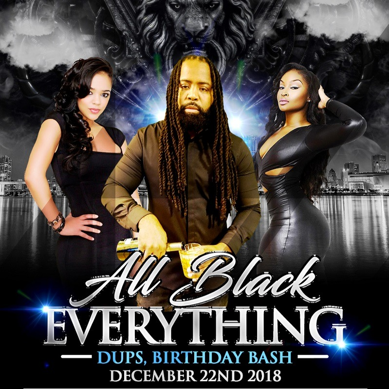 All Black Everything-Dups-Birthday Bash